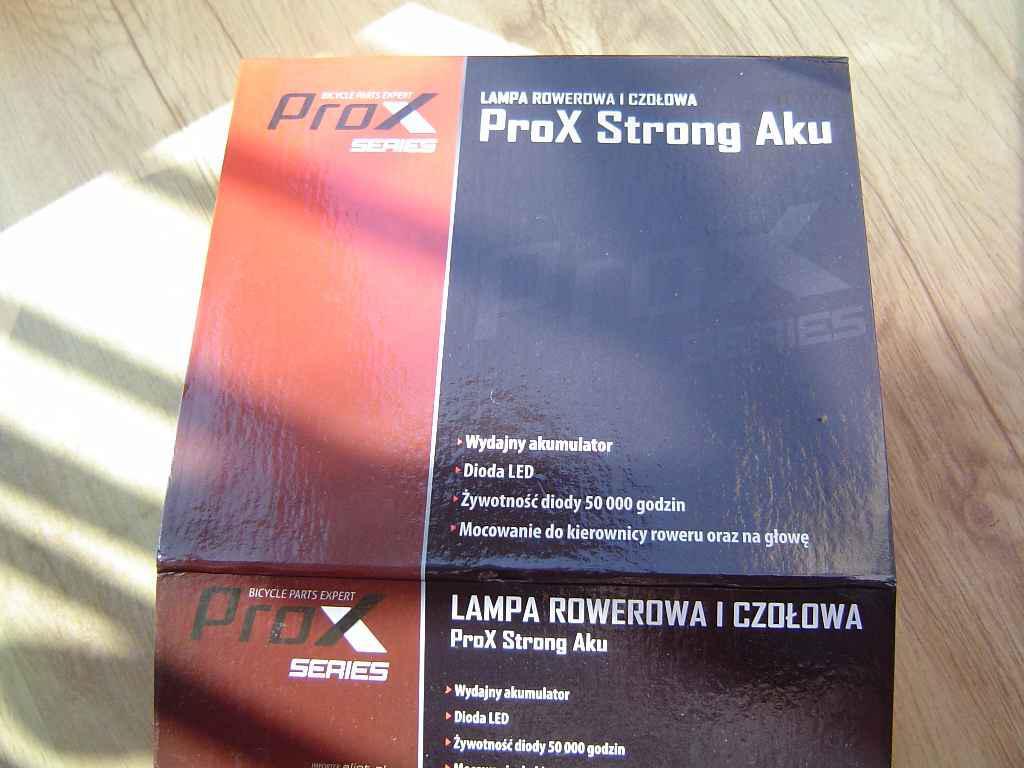 Lampa Rowerowa Pro X Strong 2200 Lmn